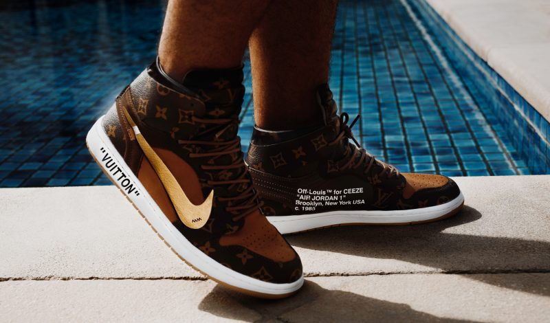 """Limited Edition """"OFF–LOUIS"""" Sneakers"""